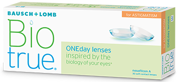 BioTrue ONEday for Astigmatism kontaktlinser